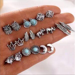 5/$20 10-pair earring set